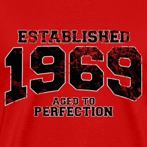established 1969 - aged to perfection(sv) T-shirts - Premium-T-shirt herr