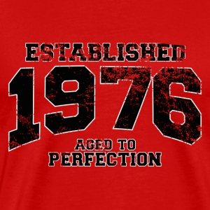 established 1976 - aged to perfection(nl) T-shirts - Mannen Premium T-shirt