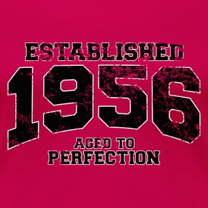 established 1956 - aged to perfection(nl) T-shirts - Vrouwen Premium T-shirt