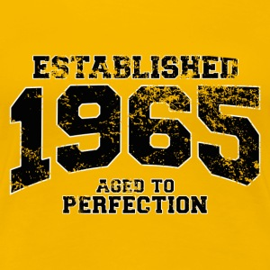 Geburtstag - established 1965 - aged to perfection - Frauen Premium T-Shirt