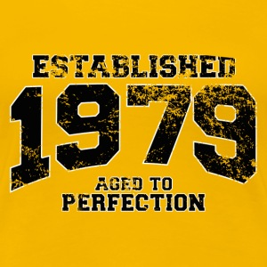 Geburtstag - established 1979 - aged to perfection - Frauen Premium T-Shirt