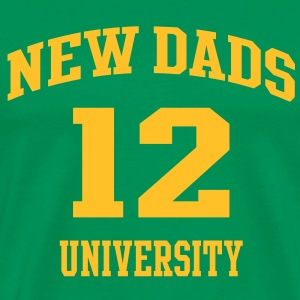 NEW DADS UNIVERSITY 12 T-Shirt YG - Men's Premium T-Shirt