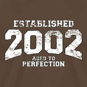 Geburtstag - established 2002 - aged to perfection - Männer Premium T-Shirt