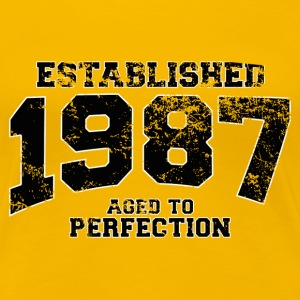 established 1987 - aged to perfection(it) T-shirt - Maglietta Premium da donna