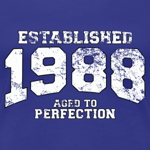 established 1988 - aged to perfection (nl) T-shirts - Vrouwen Premium T-shirt