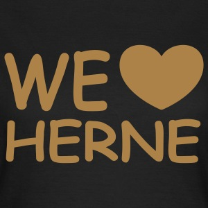 WE ♥ HERNE - Girlieshirt - Frauen T-Shirt