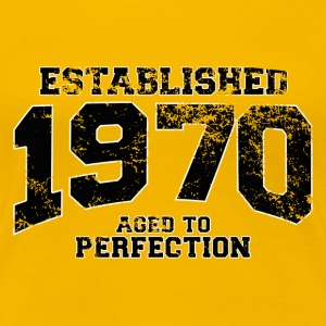 established 1970 - aged to perfection(uk) T-Shirts - Women's Premium T-Shirt