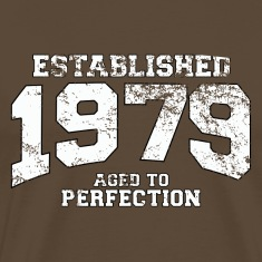 established 1979 - aged to perfection (uk) T-Shirts