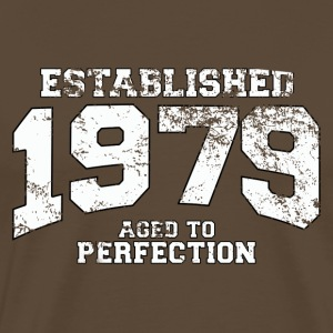 Geburtstag - established 1979 - aged to perfection - Männer Premium T-Shirt