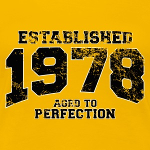 established 1978 - aged to perfection(uk) T-Shirts - Women's Premium T-Shirt