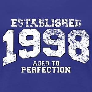 Geburtstag - established 1998 - aged to perfection - Frauen Premium T-Shirt