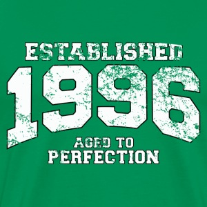 established 1996 - aged to perfection (es) Camisetas - Camiseta premium hombre