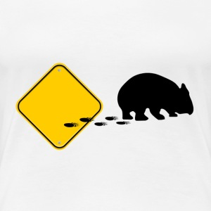 Wombat, Break out !!! T-Shirts - Frauen Premium T-Shirt