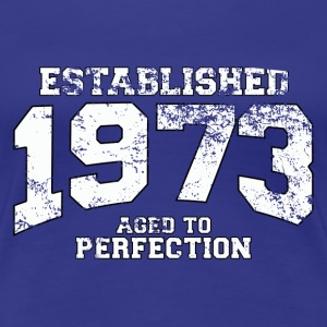 established 1973 - aged to perfection (nl) T-shirts - Vrouwen Premium T-shirt