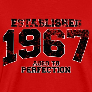 established 1967 - aged to perfection(nl) T-shirts - Mannen Premium T-shirt