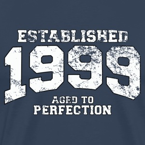 established 1999 - aged to perfection (es) Camisetas - Camiseta premium hombre
