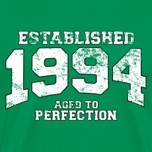 Geburtstag - established 1994 - aged to perfection - Männer Premium T-Shirt