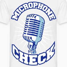 Microphone check