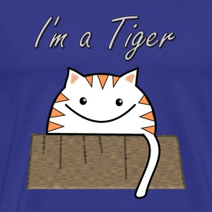 I'm a tiger Tee shirts - T-shirt Premium Homme