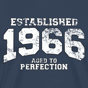 established 1966 - aged to perfection (nl) T-shirts - Mannen Premium T-shirt