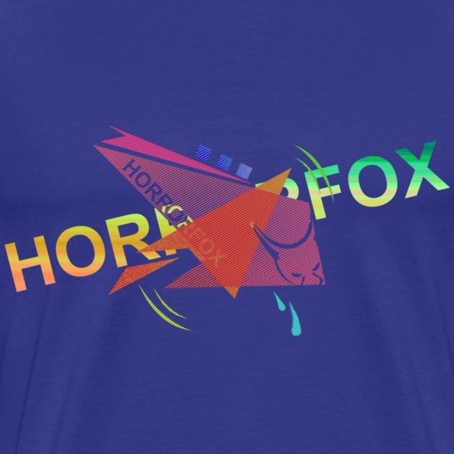 HorrorFox Complex Men's Tee [Blue]