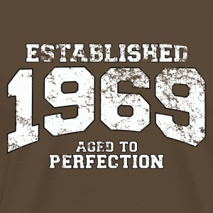 established 1969 - aged to perfection (uk) T-Shirts - Men's Premium T-Shirt