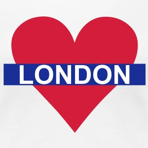 Love London - Underground T-shirts - Premium-T-shirt dam