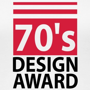 70s design award - birthday shirt women - Women's Premium T-Shirt
