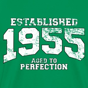 established 1955 - aged to perfection (fr) Tee shirts - T-shirt Premium Homme
