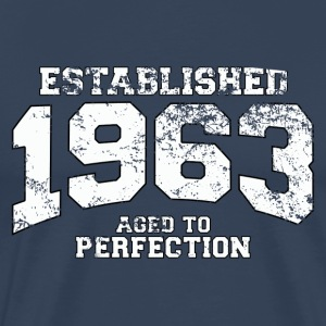 established 1963 - aged to perfection (sv) T-shirts - Premium-T-shirt herr
