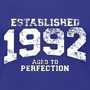established 1992 - aged to perfection (fr) Tee shirts - T-shirt Premium Femme