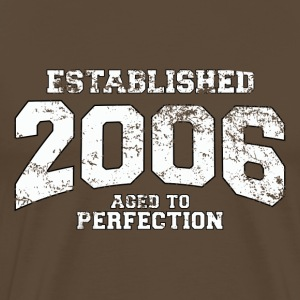 Geburtstag - established 2006 - aged to perfection - Männer Premium T-Shirt