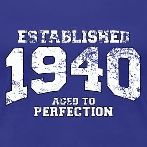 established 1940 - aged to perfection (uk) T-Shirts - Women's Premium T-Shirt