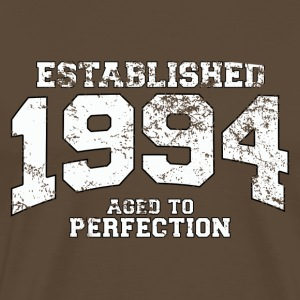 established 1994 - aged to perfection (dk) T-shirts - Herre premium T-shirt