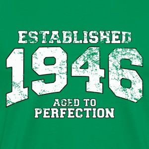 established 1946 - aged to perfection (es) Camisetas - Camiseta premium hombre