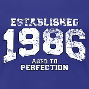 established 1986 - aged to perfection (fr) Tee shirts - T-shirt Premium Femme