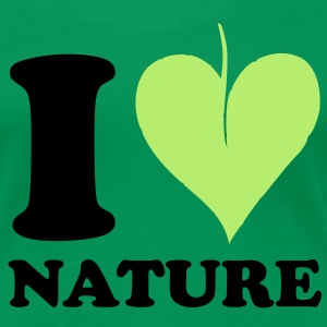I love Nature T-shirts - Vrouwen Premium T-shirt