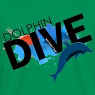 Design ~ Mens Tee : Dolphin Dive