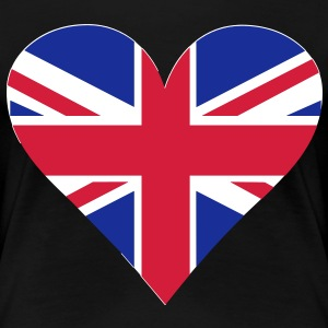 UK Heart London T-shirts - Dame premium T-shirt