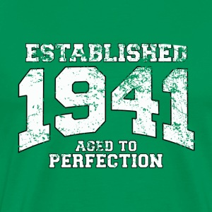 Geburtstag - established 1941 - aged to perfection - Männer Premium T-Shirt
