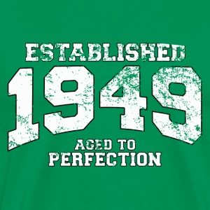 Geburtstag - established 1949 - aged to perfection - Männer Premium T-Shirt