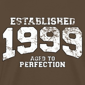 Geburtstag - established 1999 - aged to perfection - Männer Premium T-Shirt