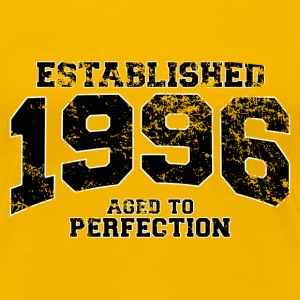 established 1996 - aged to perfection(fr) Tee shirts - T-shirt Premium Femme