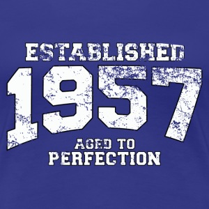 established 1957 - aged to perfection (uk) T-Shirts - Women's Premium T-Shirt