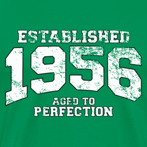 established 1956 - aged to perfection (it) T-shirt - Maglietta Premium da uomo