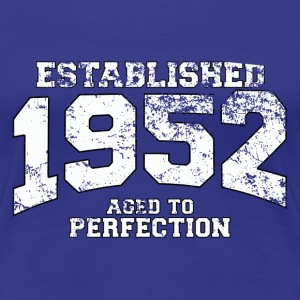 established 1952 - aged to perfection (uk) T-Shirts - Women's Premium T-Shirt