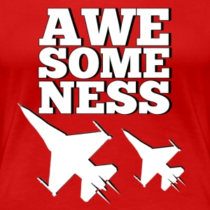 awesomeness - Frauen Premium T-Shirt