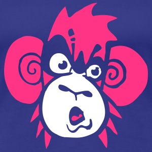 monkey blu shirt girl - Vrouwen Premium T-shirt