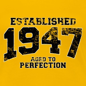 established 1947 - aged to perfection (uk) T-Shirts - Women's Premium T-Shirt