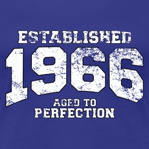 established 1966 - aged to perfection (uk) T-Shirts - Women's Premium T-Shirt
